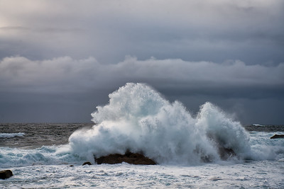 Crashing Surf, Point Lobos State Reserve