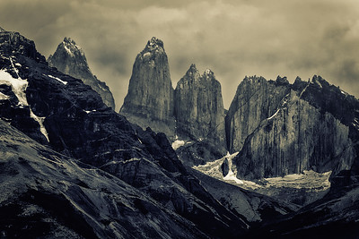 Cerra Torres, Torres del Paine National Park, Chile