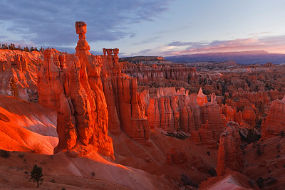 Bryce Sunrise and Thor's Hammer