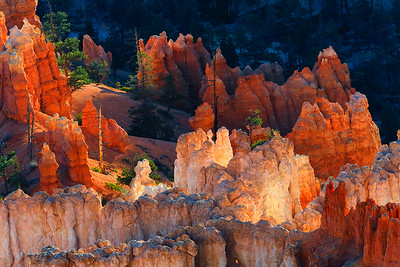Glowing Hoodoos