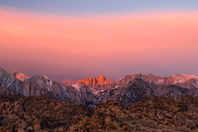 Alabama Hills and Mt. Whitney