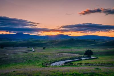 Quien Sabe Road, Santa Clara Valley