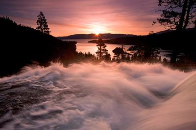 Sunrise, Eagle Falls