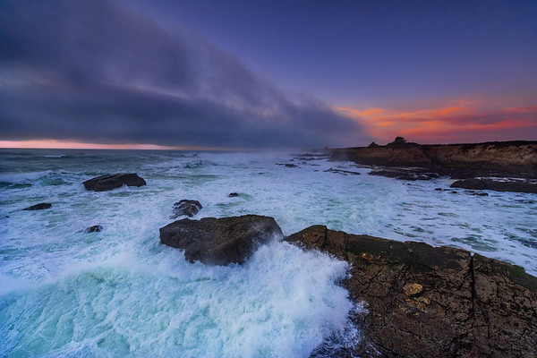 Point Arena, Mendocino Co .