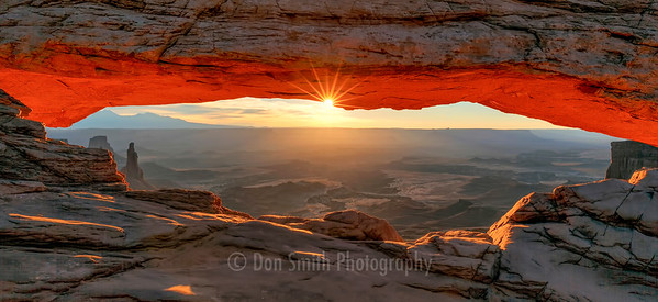Morning Warmth, Mesa Arch