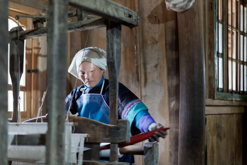 Women on Loom #1