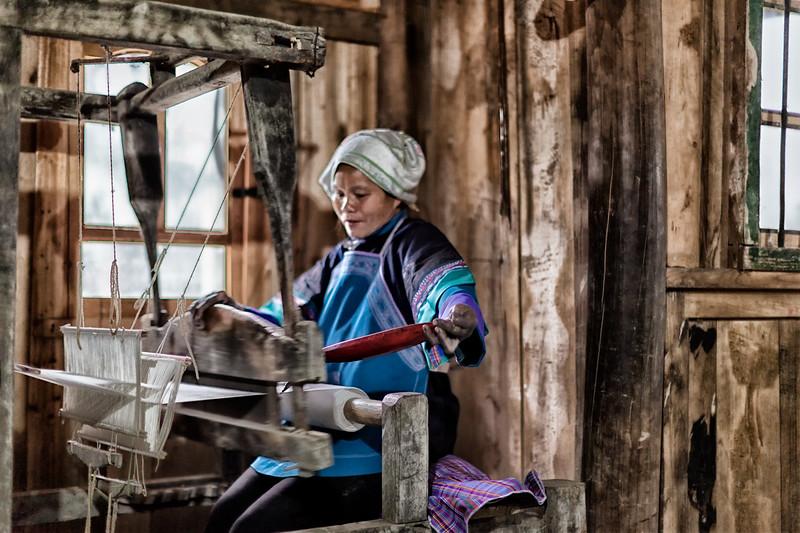 Women on Loom #5