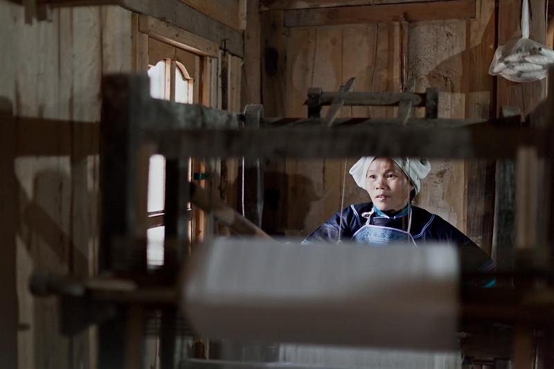 Women on Loom #3