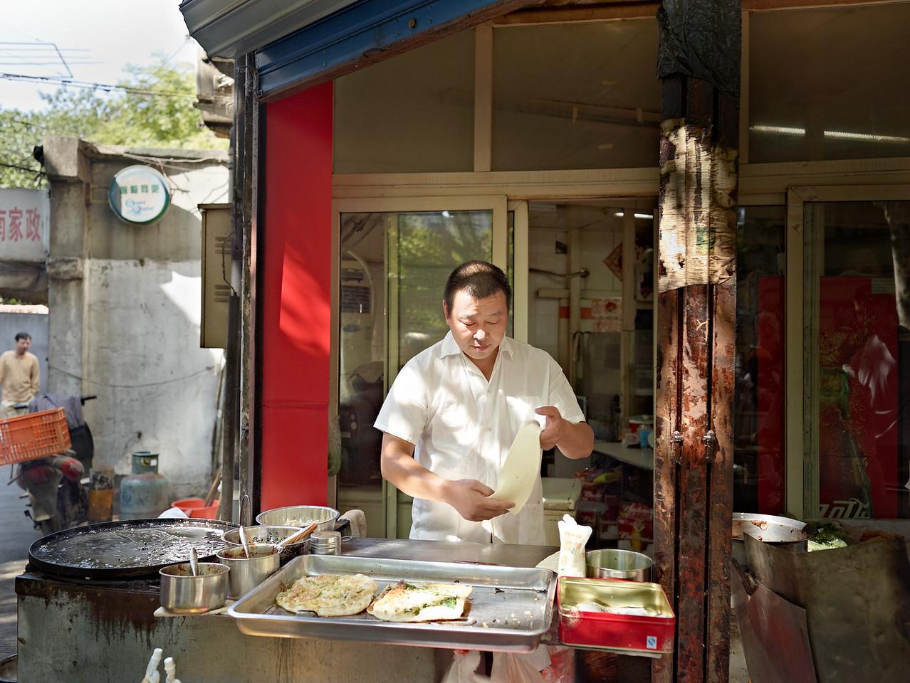 80) Man Cook Mr Li