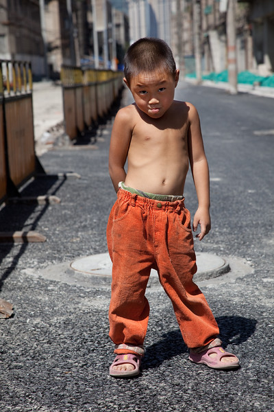 63) Boy Standing