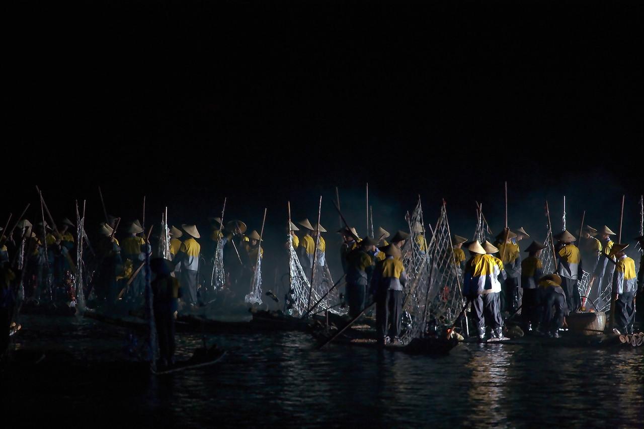 Night Fishing Yangshuo China