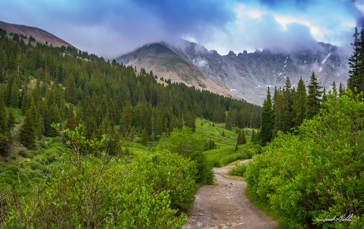 Road to unkown destination