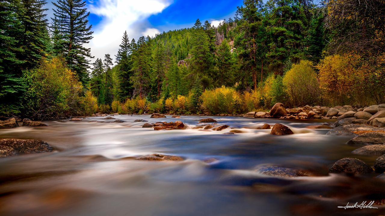 Taylor River in the Fall