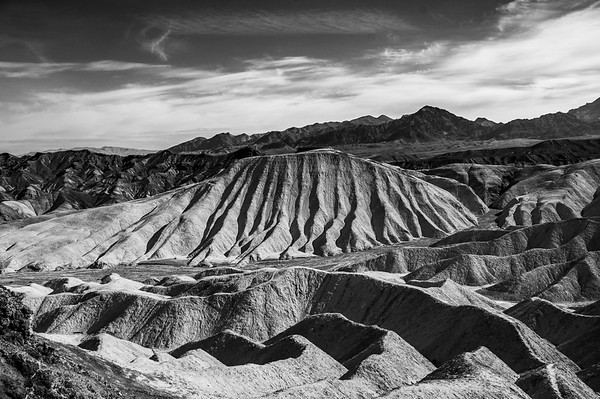 This is looking back at Zabriskie Point