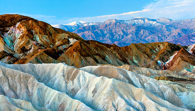 Zabriskie Point and Panamints