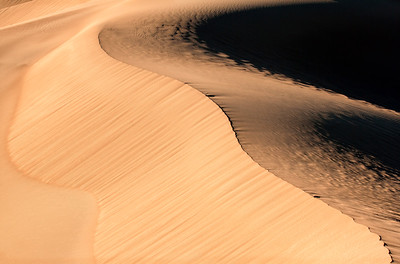First Light on Mesquite Dunes