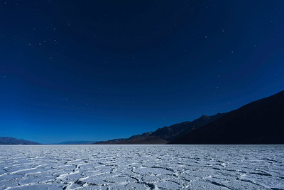 Night Sky Over Badwater
