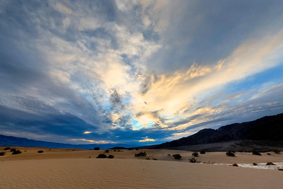Dawn on the Mesquite Dunes