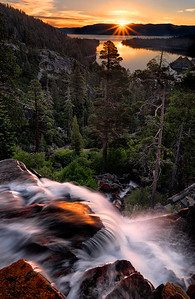 Sunrise and Eagle Falls