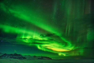 Northern Lights, Southern Iceland