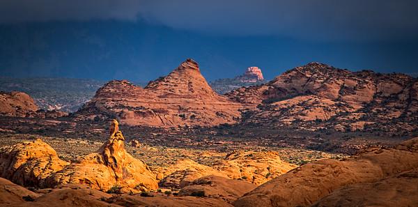 Storm Light and Petrified Dunes