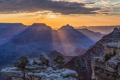 Sunrise Sunbeams, Mather Point