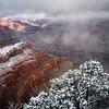 Fresh Snow at Hopi Point