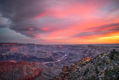 Dawn on South Rim of Grand Canyon