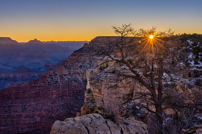 Winter Sunrise, Grand Canyon