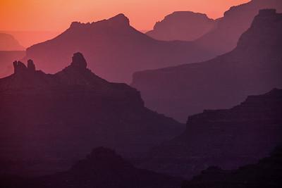 Canyon Dusk Hues