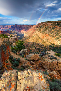 Double Rainbow, Lipan Point