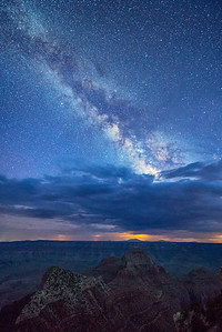 Moonless Sky Over Grand Canyon