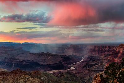 Rain Squalls, Desert View
