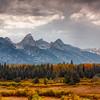 Storm Clouds Over Teton Range