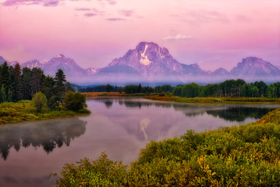 Dawn's Hues, Oxbow Bend