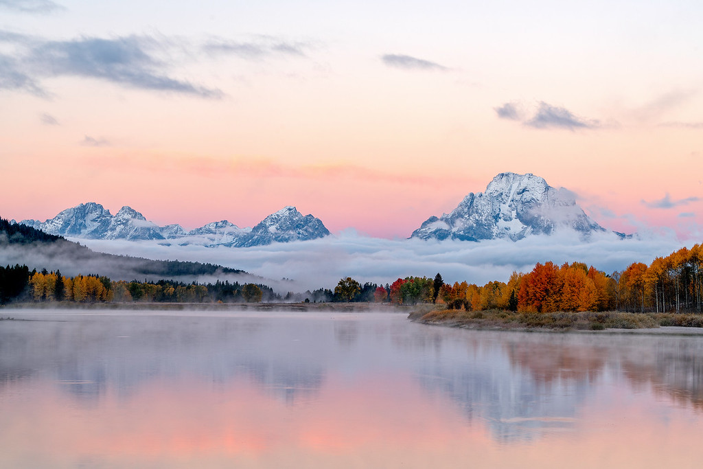 Dawn at Oxbow Bend