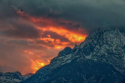 Mountain Light and Mt. Moran