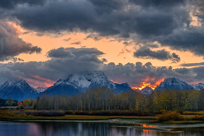 Storm Clouds Over Oxbow Bend
