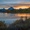 Twilight at Oxbow Bend