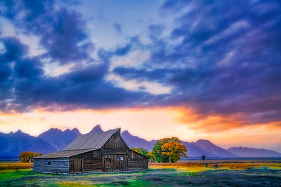 T. A. Moulten Barn, Grand Teton National Park