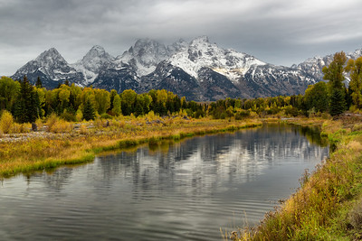 First Light at Schwabacher's Landing