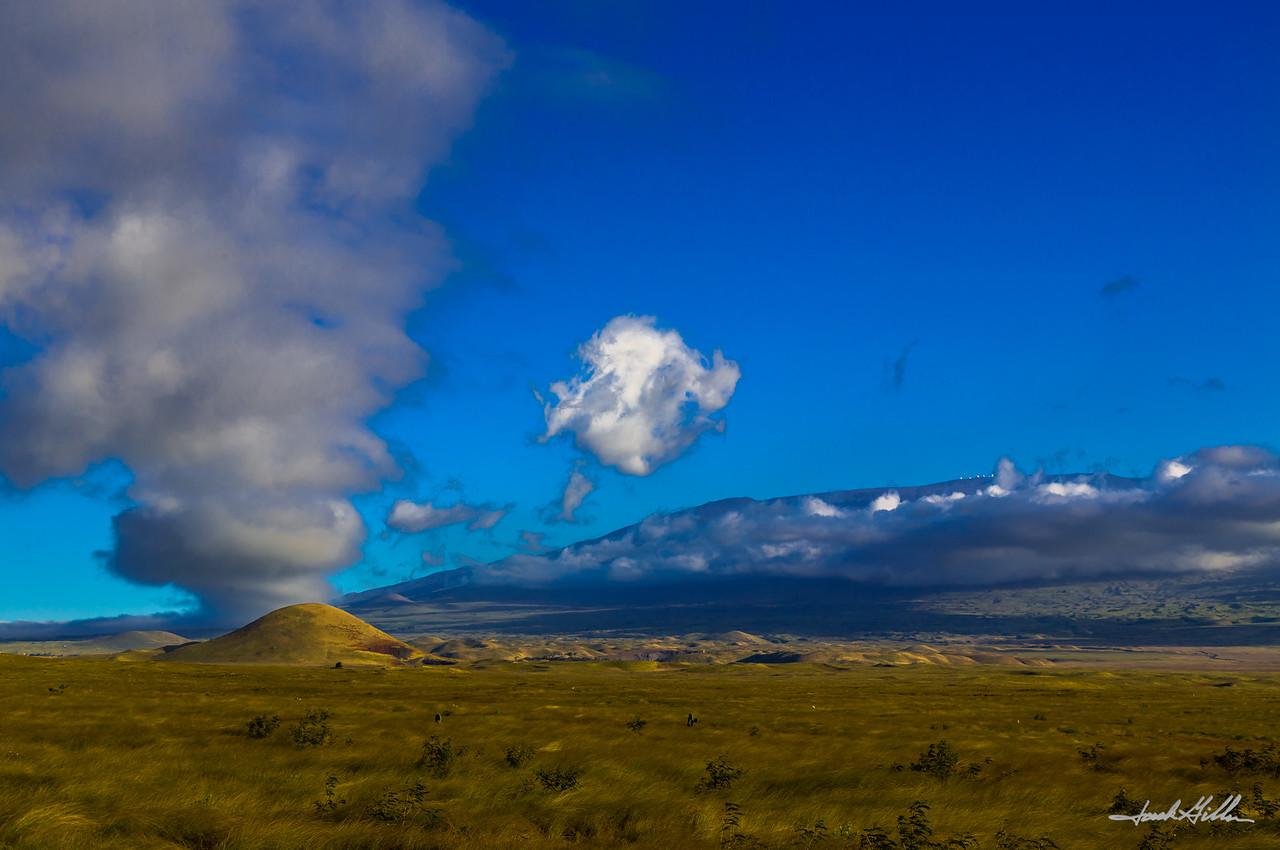 Mystical Clouds looking towards Mauna Kea