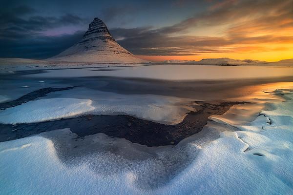 Frozen Sunrise