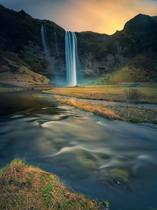 The land of waterfalls