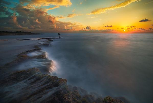Fishing a Sunset
