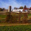 Amish Farm Setting - Lancaster, Pennsylvania