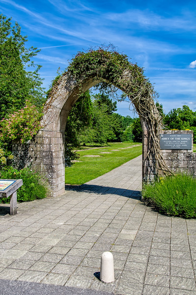 Archway to enter the abbey grounds
