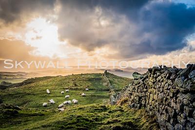 Hadrian's Wall - Northumberland, England