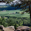 View from Gibralter Rock, Sauk County, WI