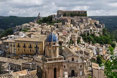 Ragusa Ibla, the old town of Ragusa, Sicily (Italy).